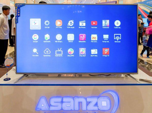Tivi Asanzo 75AU9000