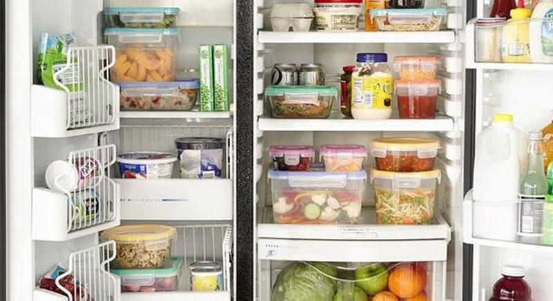 khử mùi tủ lạnh