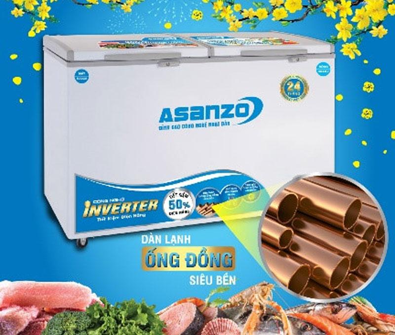tủ đông asanzo có tốt không