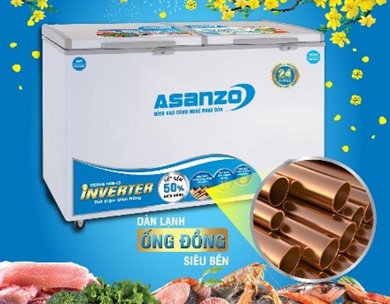 tủ đông asanzo có hao điện không
