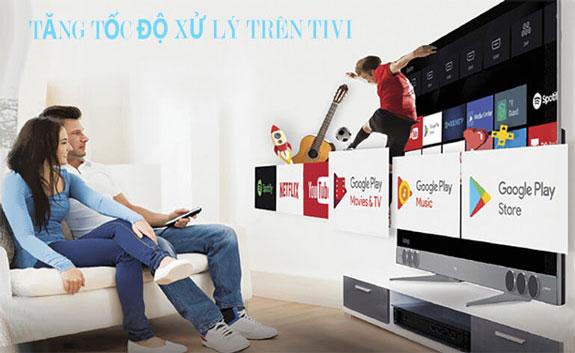 Cách tăng xử lý trên tivi